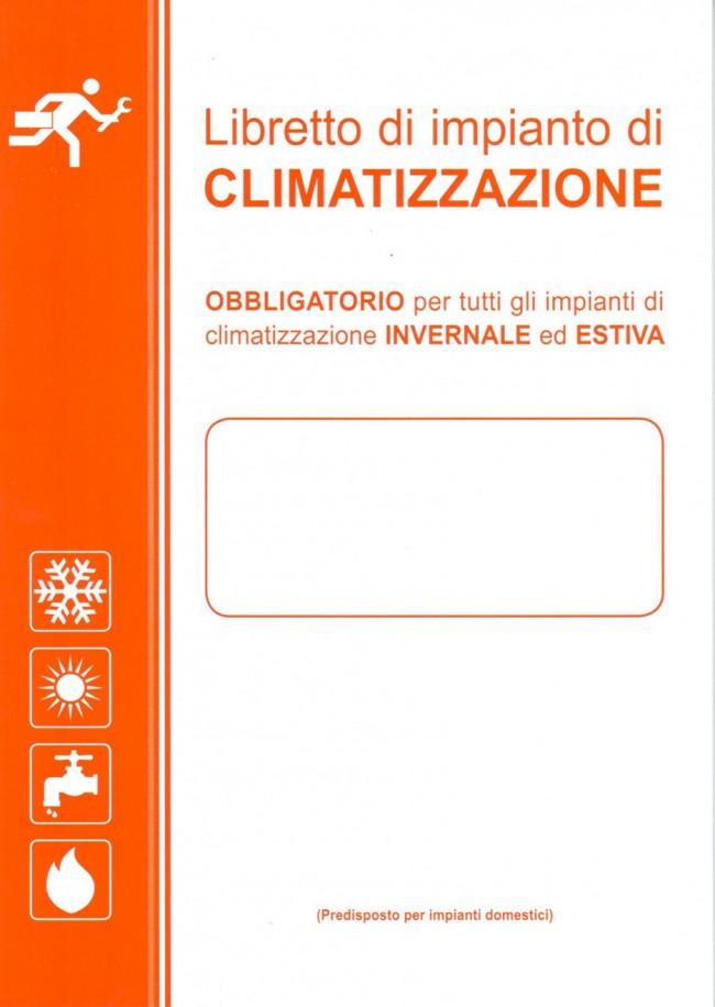 Libretto di impianto unico 2018 italtemp for Impianto climatizzazione